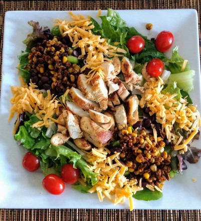Chicken, Corn and Black Bean Salad