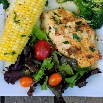 Parsley Lime Chicken in Cream