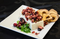 Fresh Cranberry Apple Dip with Martin's Apple Chips