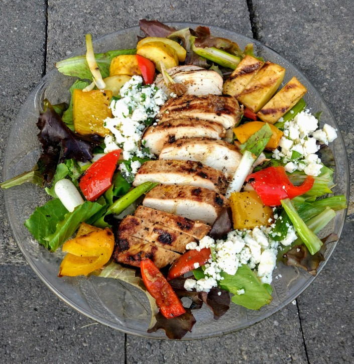 End-of-Summer Grilled Salad