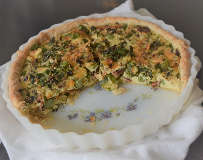 Asparagus Bacon Quiche (3)