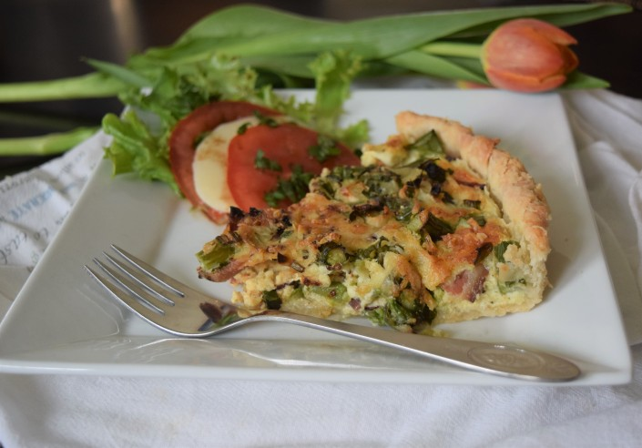 Asparagus Bacon Quiche (4)