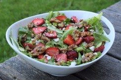 Summer Strawberry Salad with Candied Walnuts (2)