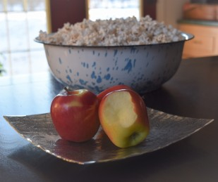 apples and popcorn