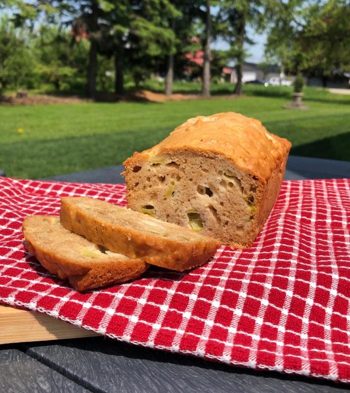 Buttermilk Rhubarb Loaf